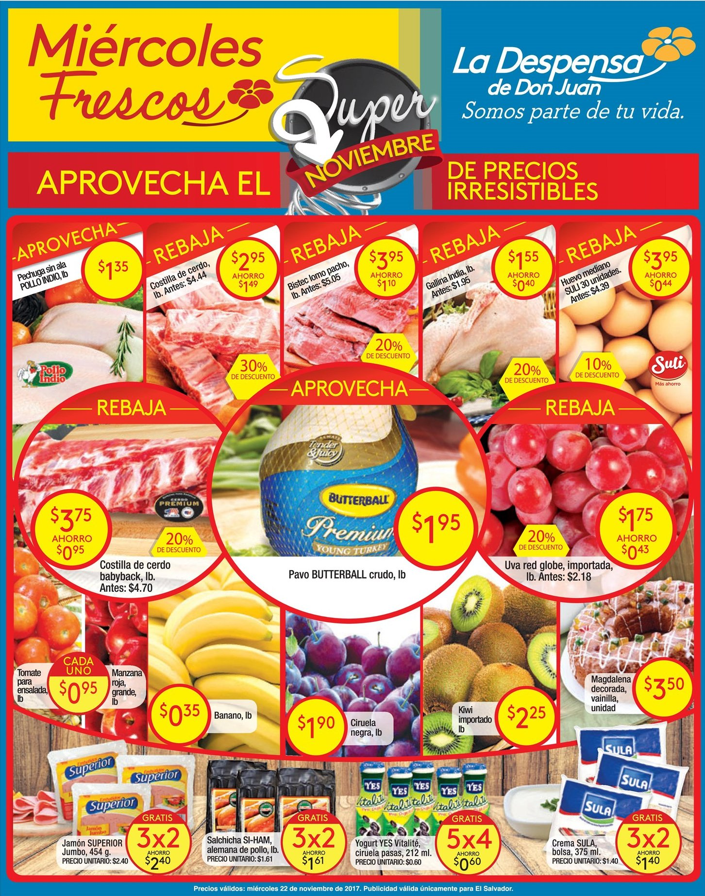 SUPER miercoles fresco BLACK muchas ofertas de la despensa - 22nov17