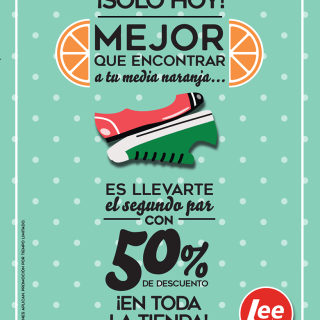 lee shoes compra tu segundo par con 50 off nov17