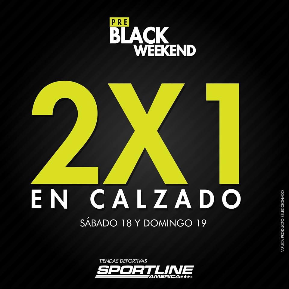 SportLine America presenta su BLACK Weekend [Zapatos al 2x1]