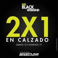 pre black weekend en tiendas de calzado SPORTLINE america el salvador