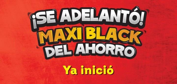ya inicio la ventas black friday 2017 maxi despensa el salvador
