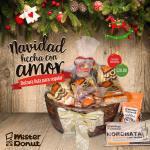 Canasta Navideña 2017 de MisterDonut el salvador