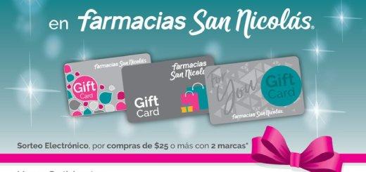 GIFT CARD de Promocion FARMACIA san nicolas