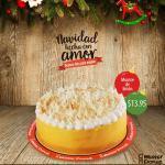 Mister DOnut Postres de navidad Mousse de limon