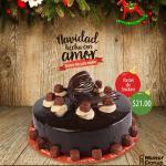 Mister Donut Postres de navidad PASTEL de snickers