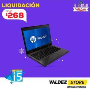 valdez store liquidacion de laptops hp pro book navidad 2017