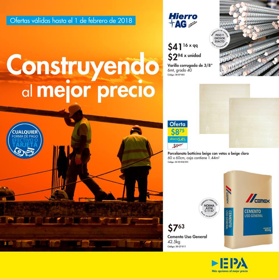 Ultima semana Catalogo de Construccion en Ferreterias EPA