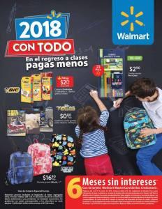 Con TODO back to school walmart 2018 rebajas y descuentos