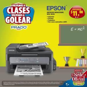 Impresoras EPSON con precio bajo de regreso a clases 2018