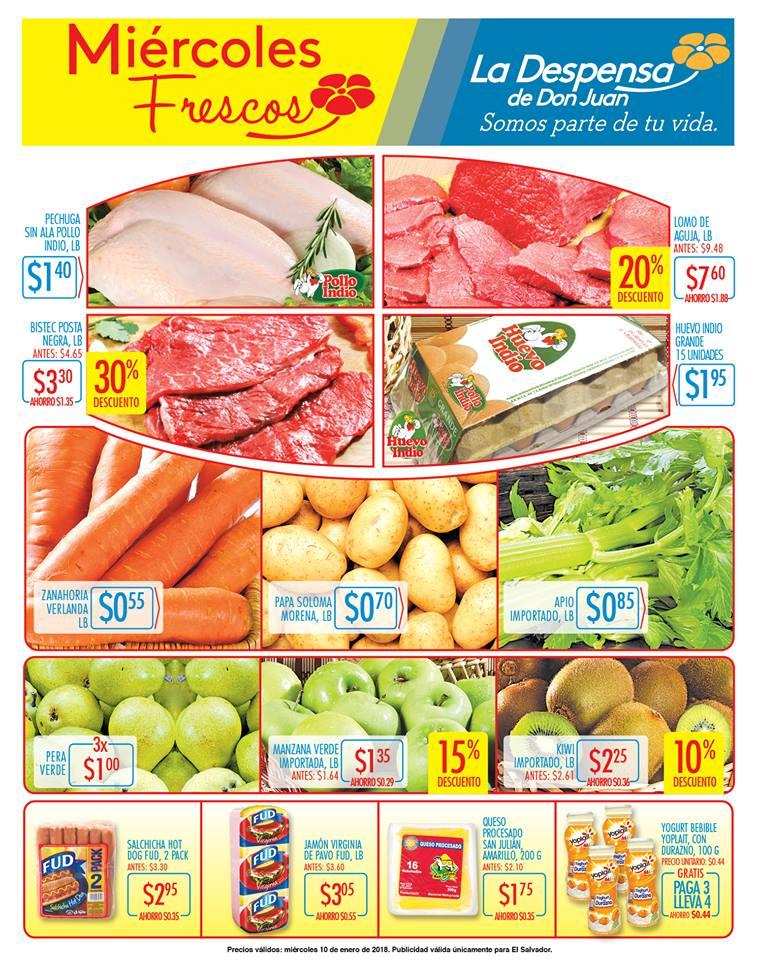 Pagina de ofertas miercoles la despensa de don juan - 10ene18