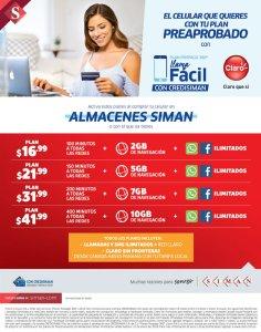 Planes pospago al comprar tu celular en SIMAN sv