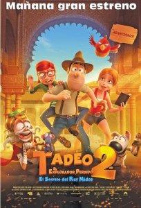 estreno TADEO 2 the movie el explorador perdido