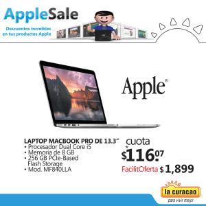 laptop macbook pro 13 pulgadas APPLE SALE