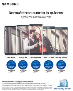 Enamorate de toda la linea de telefonos SAMSUNG galaxy and note