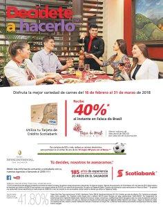Restaurante Faisca do brasil san salvador descuento