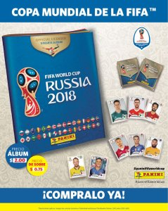 Donde comprar el nuevo album panini RUSIA 2018