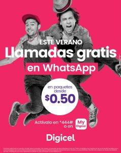 Este verano 2018 llamadas gratis en Whatsapp