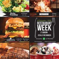 Marzo 2018 semana de promociones en los mejores restaurantes sv