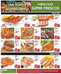 Miercoles frescos ofertas del suepr selectos 28mar18