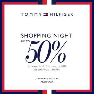 Multiplaza Shopping Night 16 Marzo - TOMMY hilfiger sv
