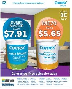 combinaciones de colores de pintura COMEX