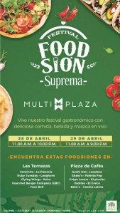 AHora en multiplaza FOODSION festival gastronomico con suprema
