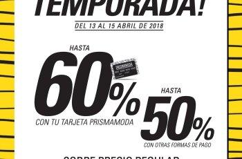 FIN DE TEMPORADA venite y aprovecha estos descuentos prismamoda
