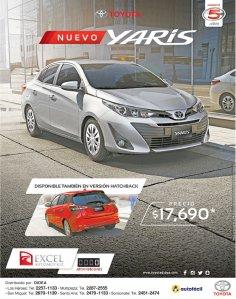 Nuevo Toyota yaris desde 18K