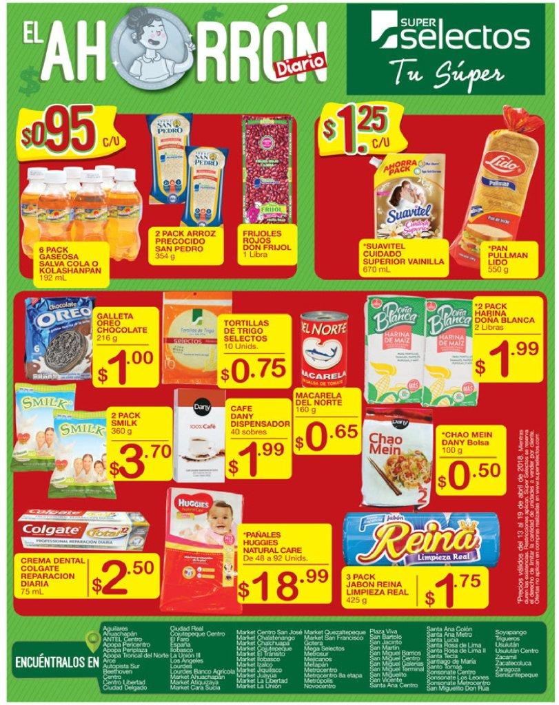 Quien le gusta comprar y ahorrar en super selectos viernes 13abr18