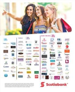 RED de comercios afiliados en SCOTIBANK promociones 2018
