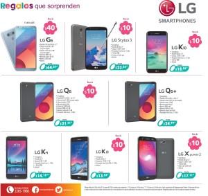 SMARTPHONES LG ofertas para regalar a las mama 2018