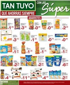 SUPER ofertas selectos en ABARROTERIA 13abr18