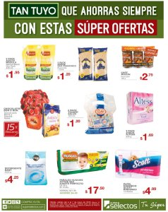 SUPER OFERTAS que te encantan del superselectos - 04may18