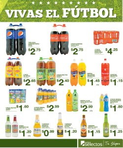VIVE el futbol mundial con super selectos promociones