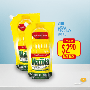 aceite mazola two pack ofertas de la despensa