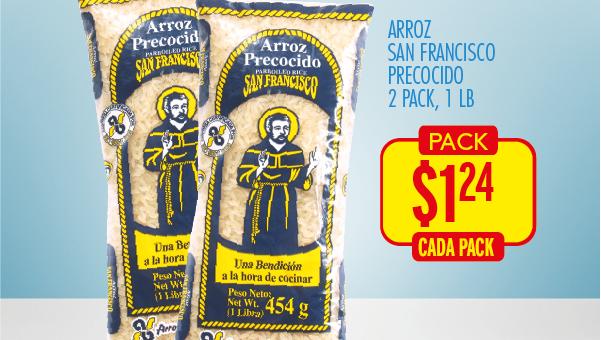 arroz san francisco two pack ofertas de la despensa