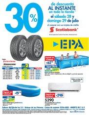 Ferreteria EPA Fin de semana 30 OFF gracias a SCOTIABANK - 28jul18