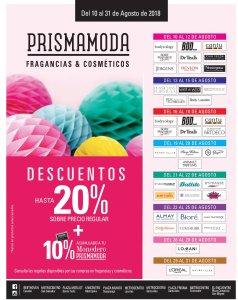 Fin de semana en frgancias y cosmeticos PRISMA MODA sv