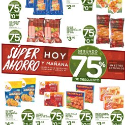 SEMANA de descuentos 75 off en superselectos - 02ago18