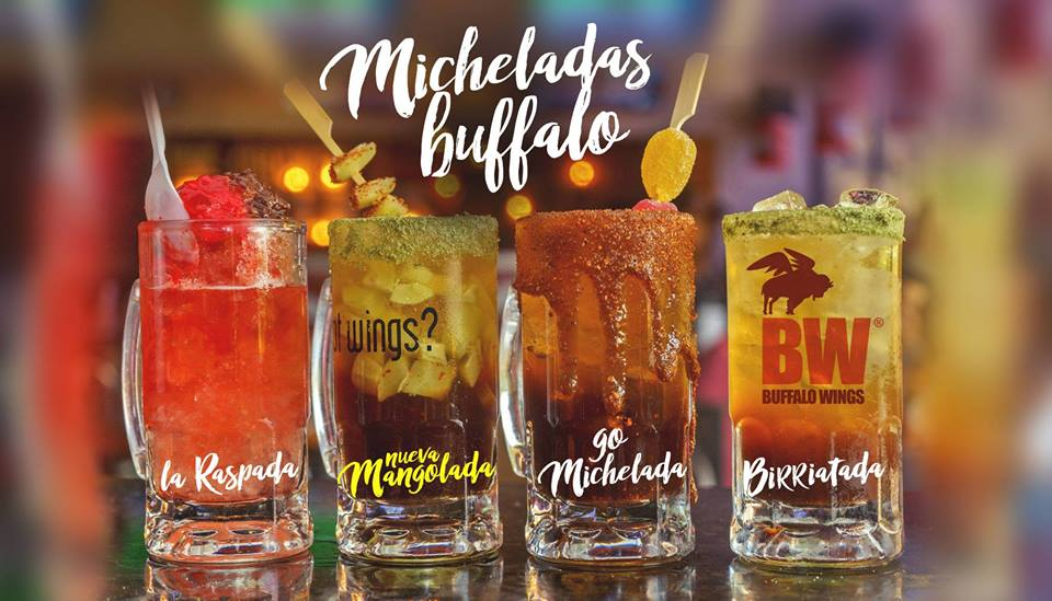 disfruta de las micheladas en Buffalo Wings El Salvador