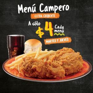 menu pollo campero tradicional menu campero extra crujiente