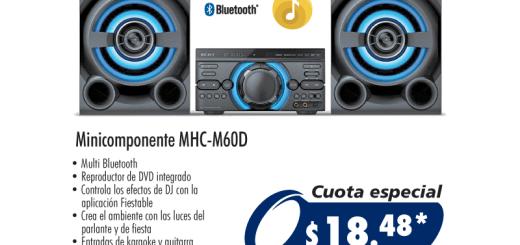 mini componentes con potencia de audio en omnisport