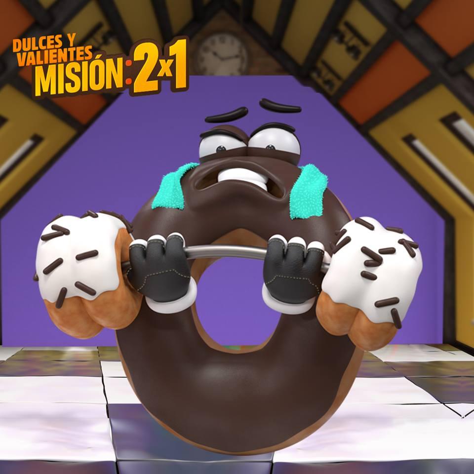 muy pronto MISION donas al 2x1 en mister donut el salvador 2018