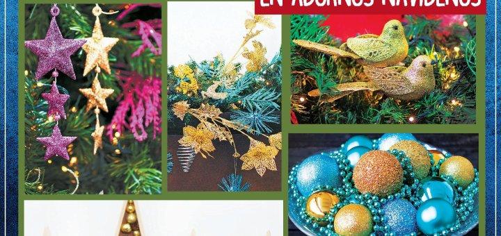 Adornos de navidad 2019 en super selectos con DESCUENTO 50 off