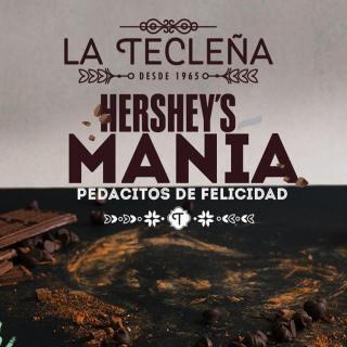 hershey mania en panaderia y pasteleria La Tecleña