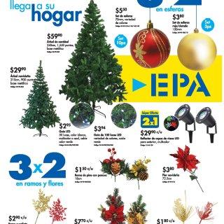 Ferreteria EPA Promociones en arbolitos de navidad 2018