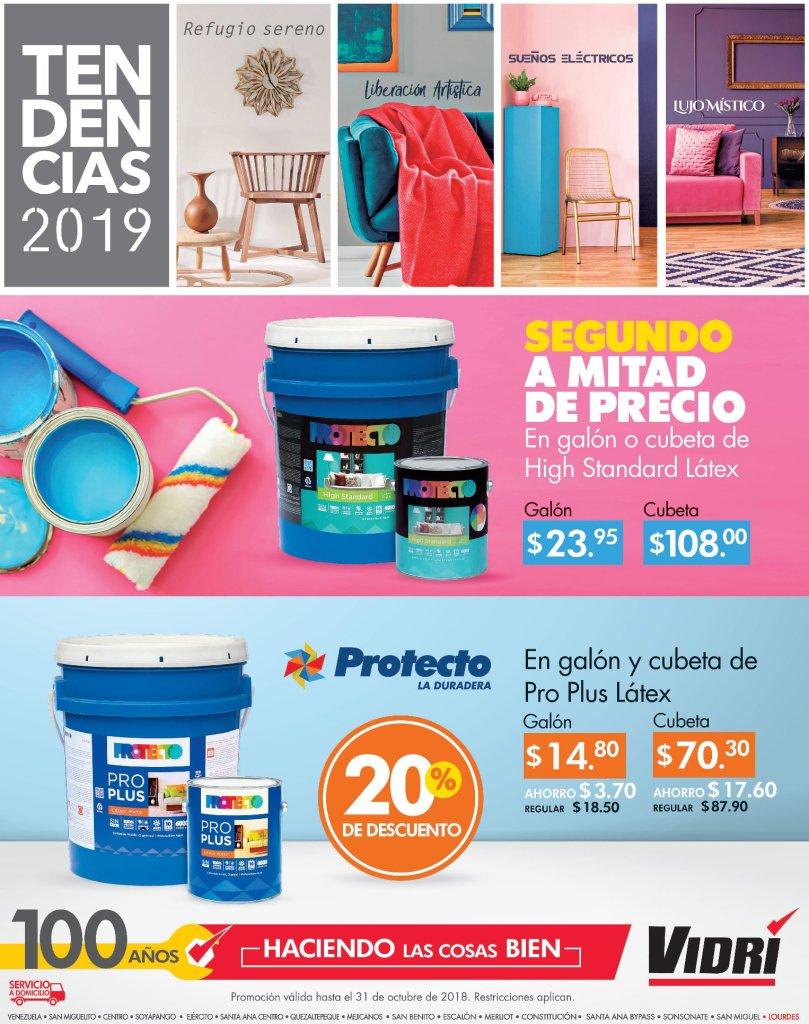 Tendencias en colores y pinturas 2019 almacenes vidri y protecto