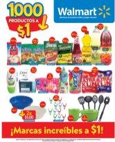 WALMART promocion MAS DE 1000 productos a un dolar