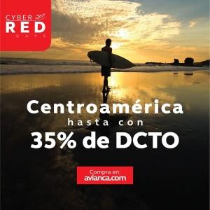 Avianca CENTRO AMERICA Descuento black friday 2018
