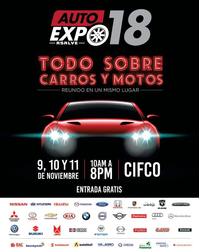 CIFCO Auto EXPO 2018 todo sobre carros y motos